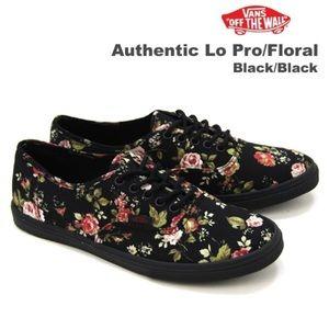 Vans LoPro floral with gum sole